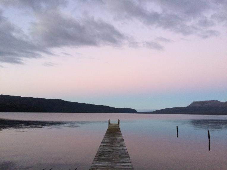 lake-tarawera-sunset